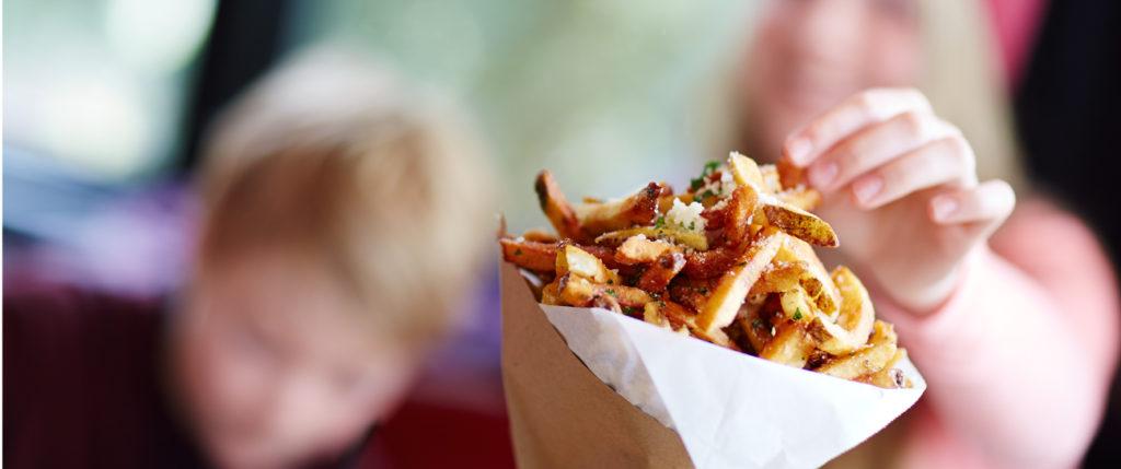 truffle fries from Ajax Tavern