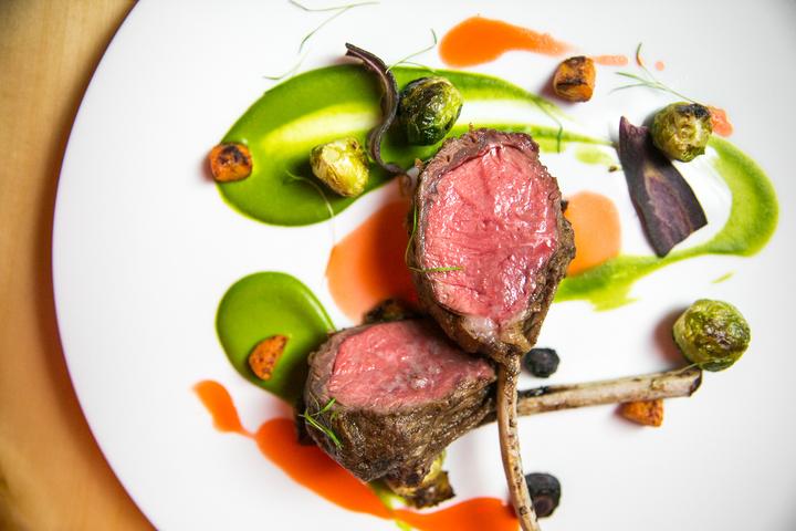 farm to table lamb chops