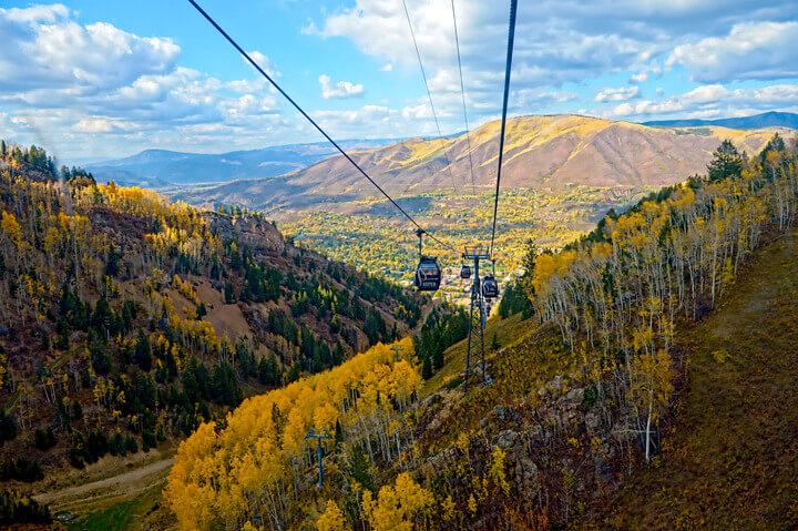 Gondola Ride to Aspen Mountain