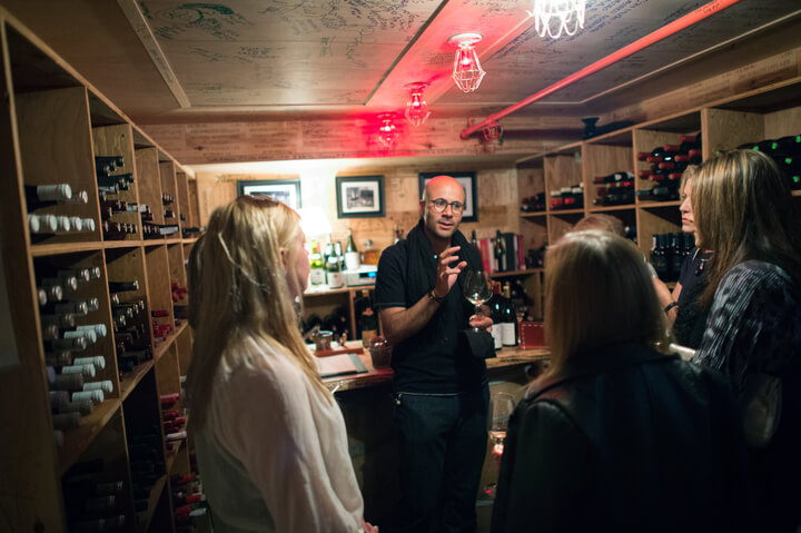 The Little Nell's Wine Cellar Experience