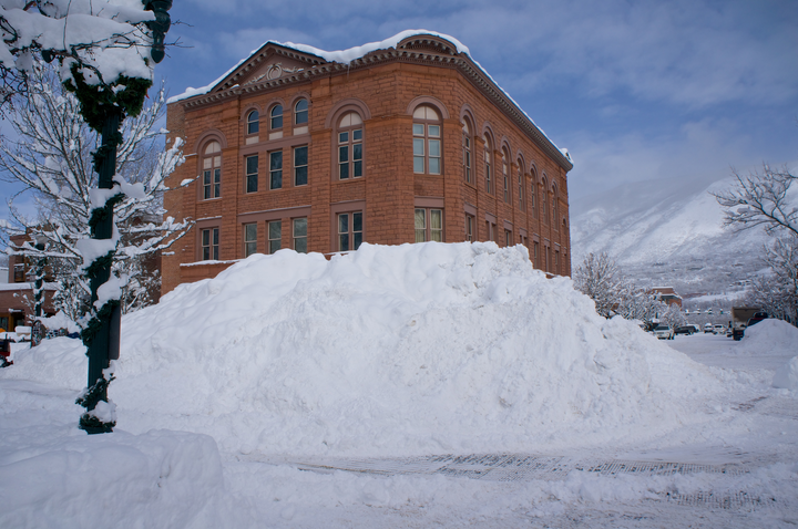 Wheeler Opera House winter
