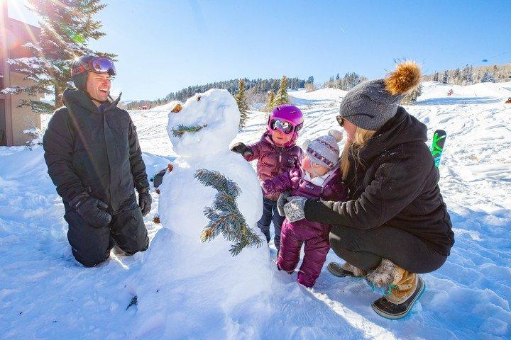 Family in Aspen